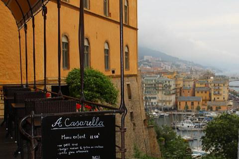View over Bastia from Citadel