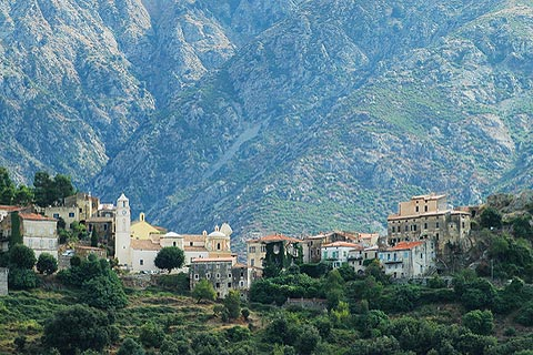 Belgodere, village in Balagne