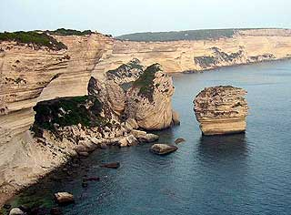 Cliffs at Bonifacio