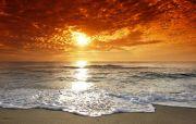 corsica-beach-sunset
