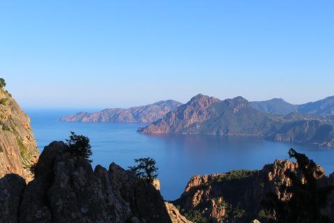 Photo de Calanches de Piana in North-West Corsica