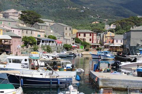 Photo of Centuri in North Corsica