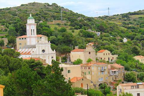 Photo of Corbara Pigna and Aregno in North-West Corsica
