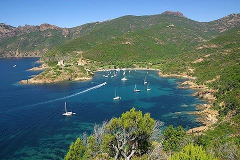 Photo of Girolata in North-West Corsica