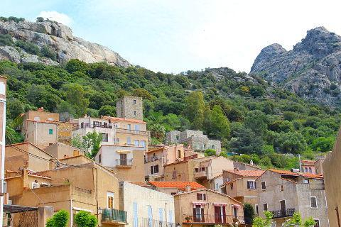 Photo of Lumio in North-West Corsica