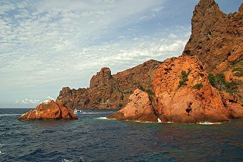 Photo of Scandola Nature Reserve in North-West Corsica