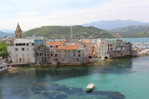 view of Saint Florent de la citadelle